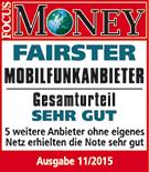 "congstar zum vierten Mal in Folge ""Fairster Mobilfunkanbieter"""