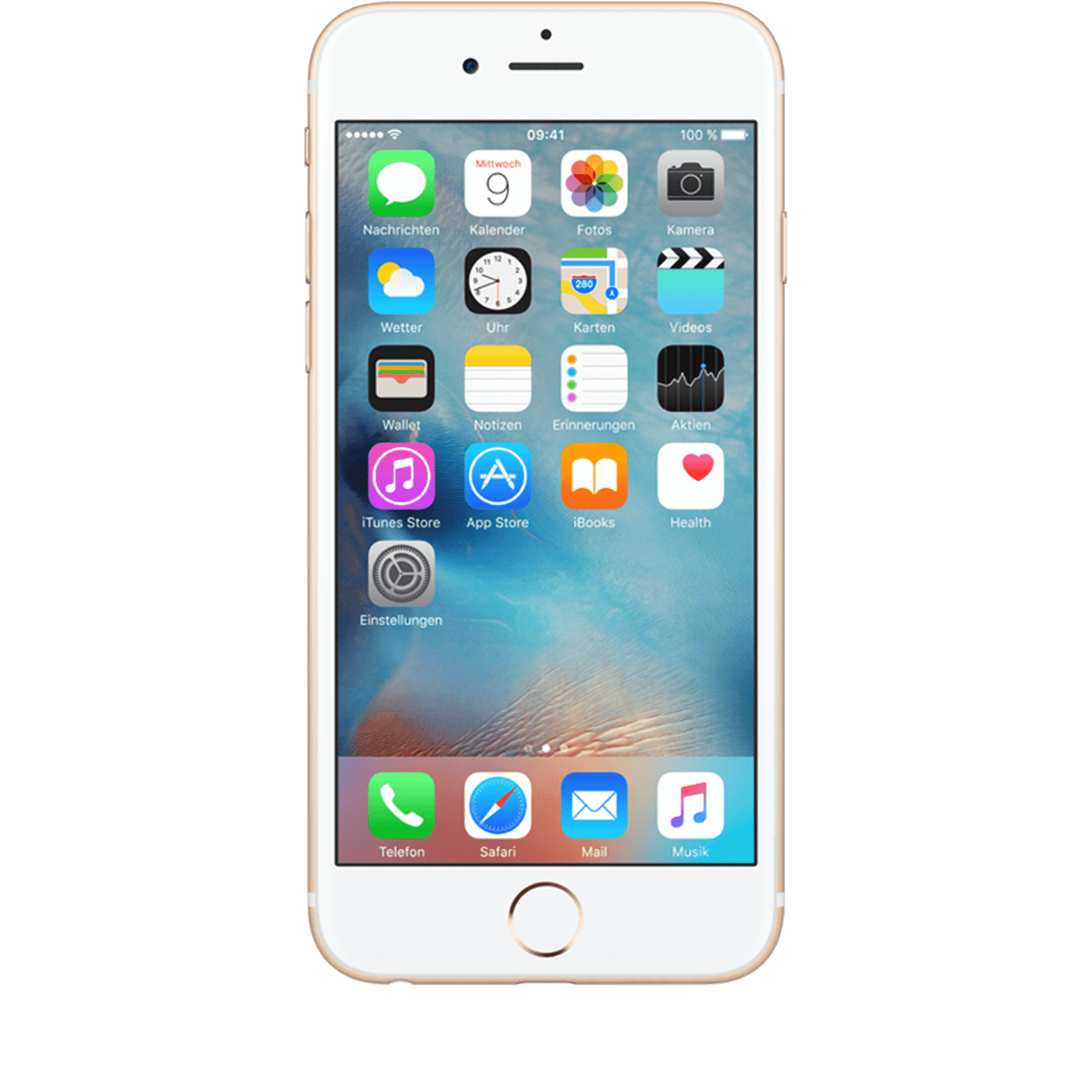 Apple iPhone 6s 32 GB gold mit Smart